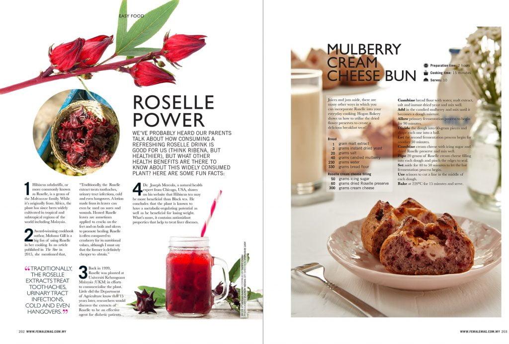 Female Magazine Lifestyle Easy Food