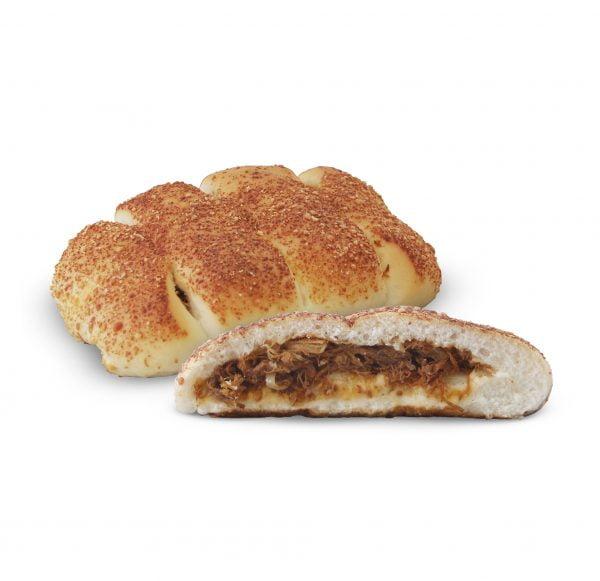 Beef floss cheesy bun