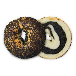 Black Sesame Bagel