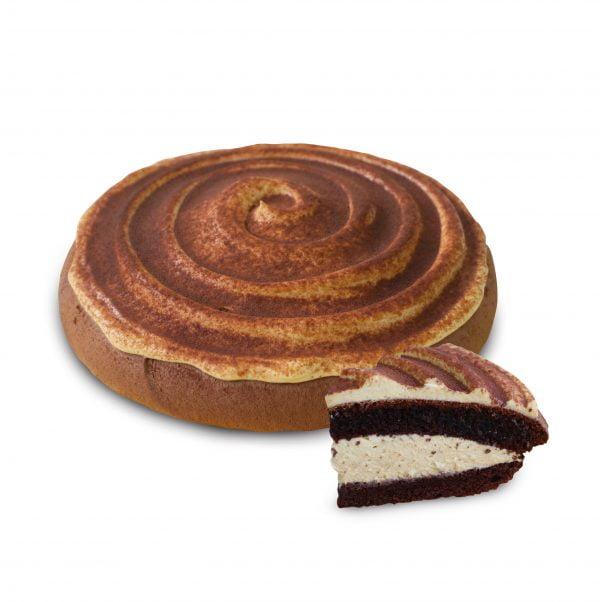 Boston Cake Pie-Salted Caramel