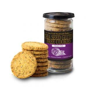 Chia Seed Gluten Free Cookies