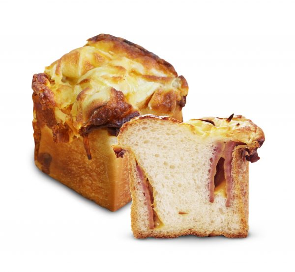 Chicken Slice & Cheese Square Toast