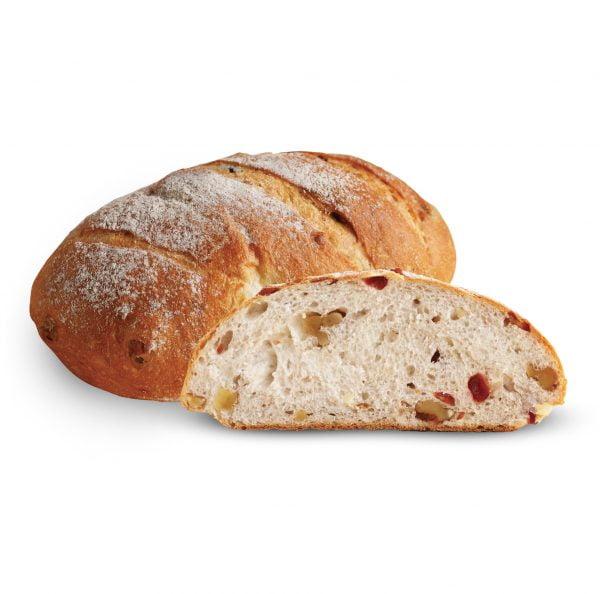 European Cranberry Walnut Bread