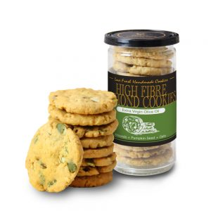 High Fibre Almond Cookies