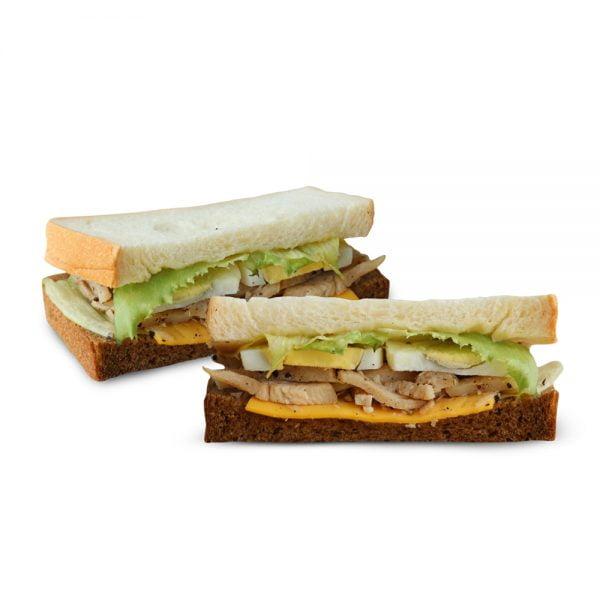 Smoked Chicken With Honey Mustard Sandwich