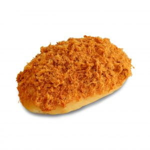 Spicy Chicken Floss Bun