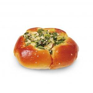 Spring Onion Bun