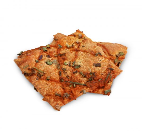 spring onion cheesy cracker