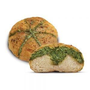 Spinach Cheese Garlic Bun