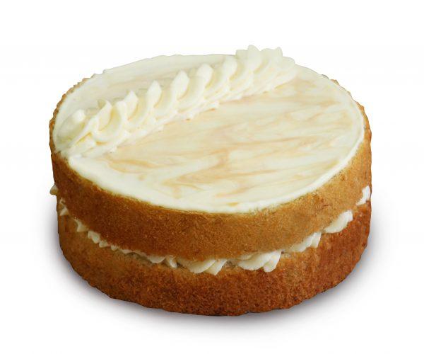 Salted Caramel Banana Cake