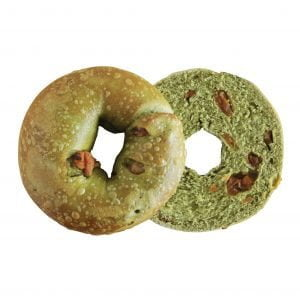 HB(210217174) Bagel Land_1000px x 1000px_Matcha Pineapple Bagel